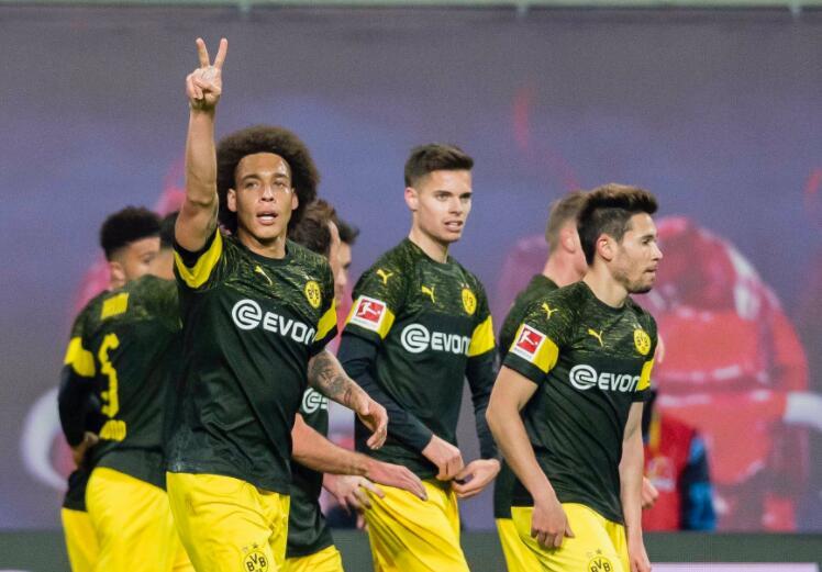 维特塞尔破门帕科中框  多特蒙德1-0莱比锡保持6分优势领跑