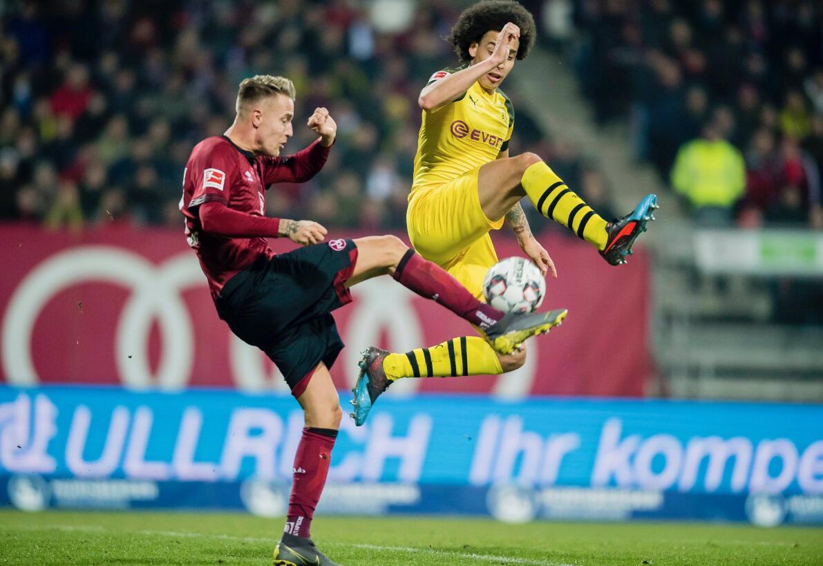 锋线哑火!多特0-0客平榜尾球队纽伦堡 三连平只领先拜仁3分