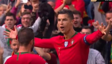 天神下凡!葡萄牙3-1瑞士 C罗帽子戏法3分钟2球!