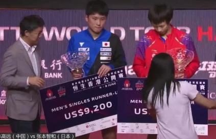 林高远夺冠:马龙缺席他也没夺冠 林高远1举动彰显大气