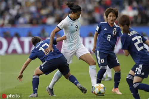 阿根廷女足0-0逼平日本女足 获队史世界杯第1分